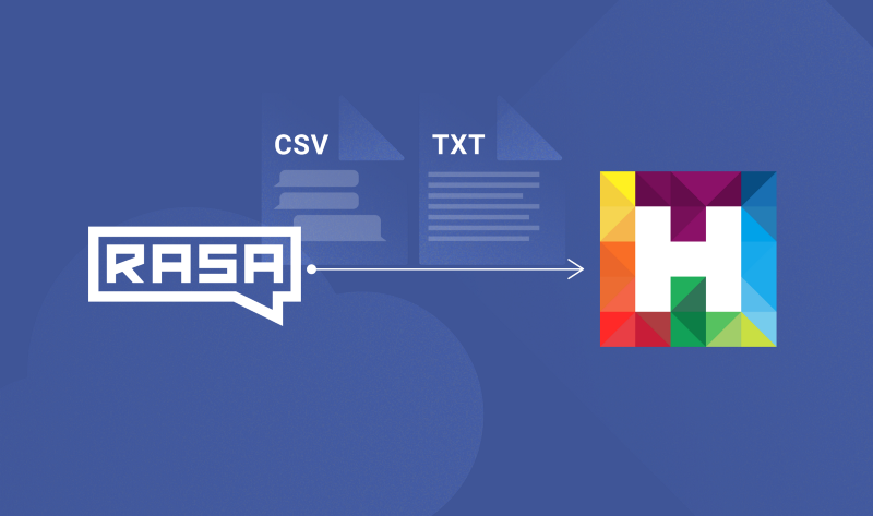 Importing Conversational Data from Rasa to HumanFirst